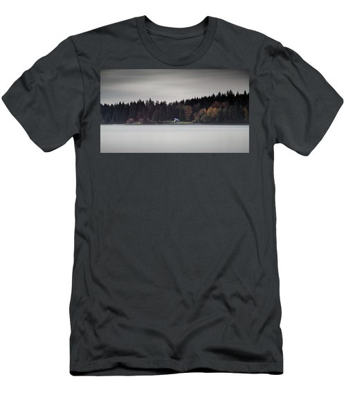 Stanley Park Vancouver Men's T-Shirt (Athletic Fit)