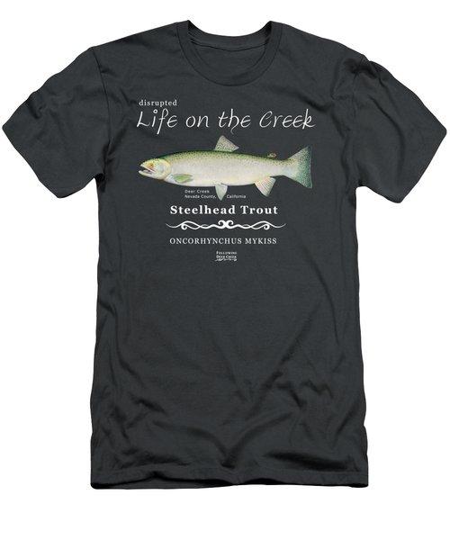 Steelhead Trout Men's T-Shirt (Athletic Fit)