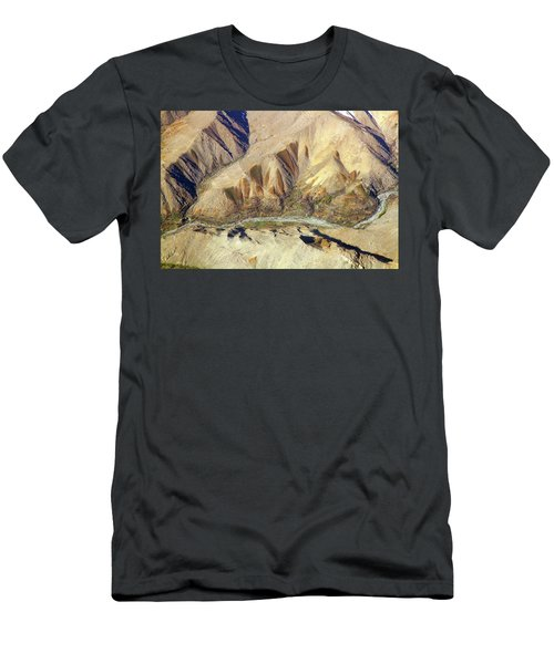 Men's T-Shirt (Athletic Fit) featuring the photograph Steps Of Fertility by SR Green