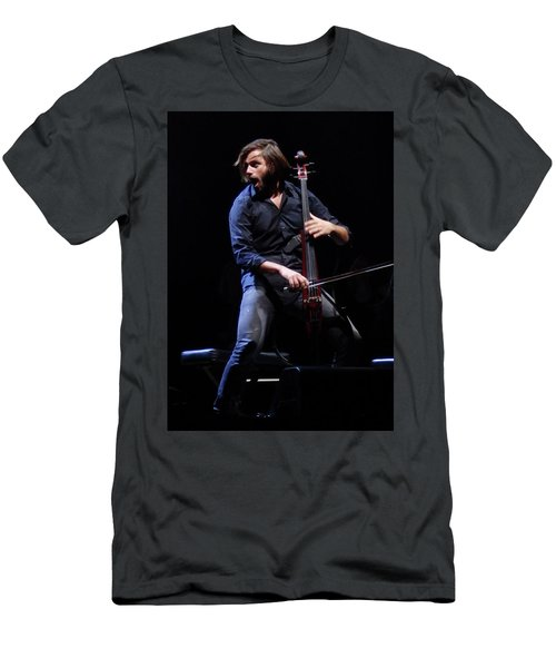 Men's T-Shirt (Athletic Fit) featuring the photograph Stjepan Hauser by James Peterson