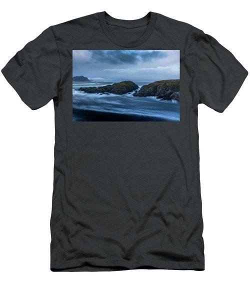 Storm At The Sea Men's T-Shirt (Athletic Fit)