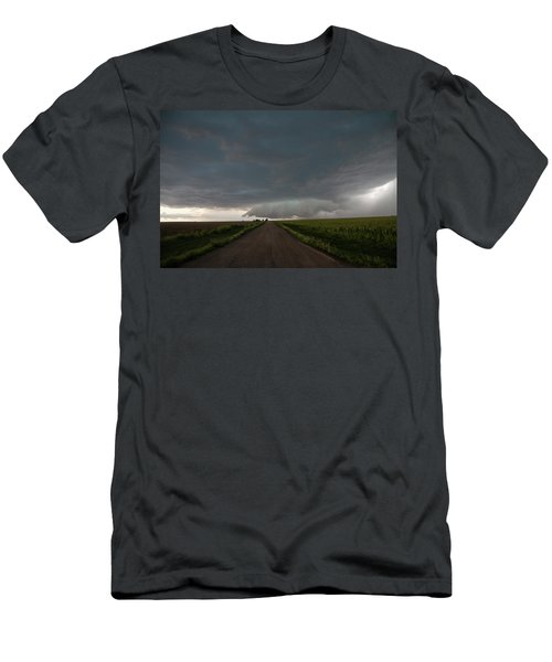 Storm Chasin In Nader Alley 025 Men's T-Shirt (Athletic Fit)