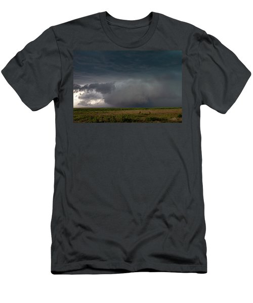 Men's T-Shirt (Athletic Fit) featuring the photograph Storm Chasin In Nader Alley 030 by NebraskaSC
