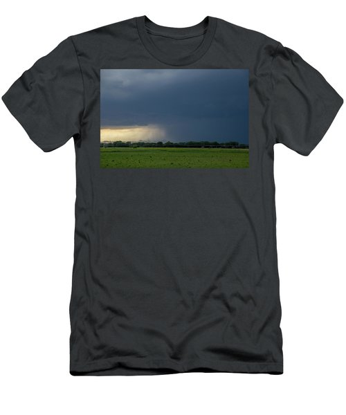 Men's T-Shirt (Athletic Fit) featuring the photograph Storm Chasing West South Central Nebraska 002 by Dale Kaminski