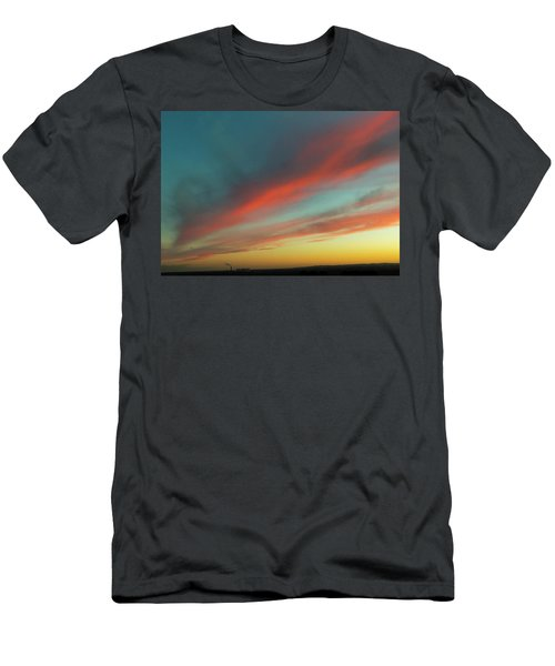 Streaming Sunset Men's T-Shirt (Athletic Fit)