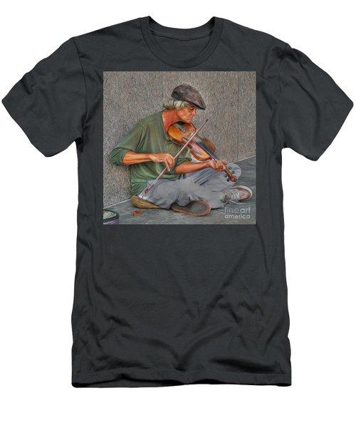 Street Music Men's T-Shirt (Athletic Fit)