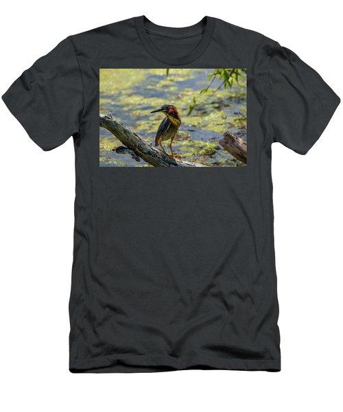 Striking A Pose Men's T-Shirt (Athletic Fit)