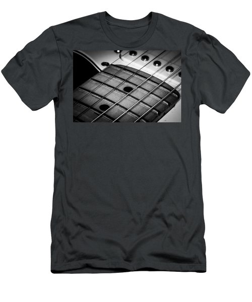 Men's T-Shirt (Athletic Fit) featuring the photograph Strings Series 13 by David Morefield