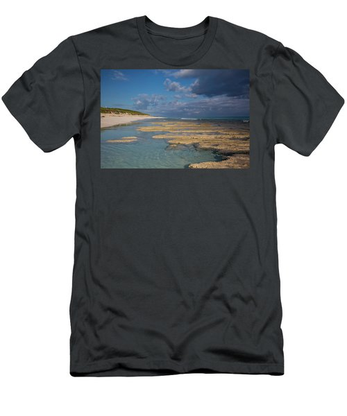 Stromatolites On Stocking Island Men's T-Shirt (Athletic Fit)