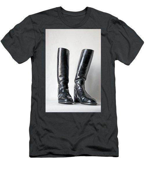 Studio. Riding Boots. Men's T-Shirt (Athletic Fit)