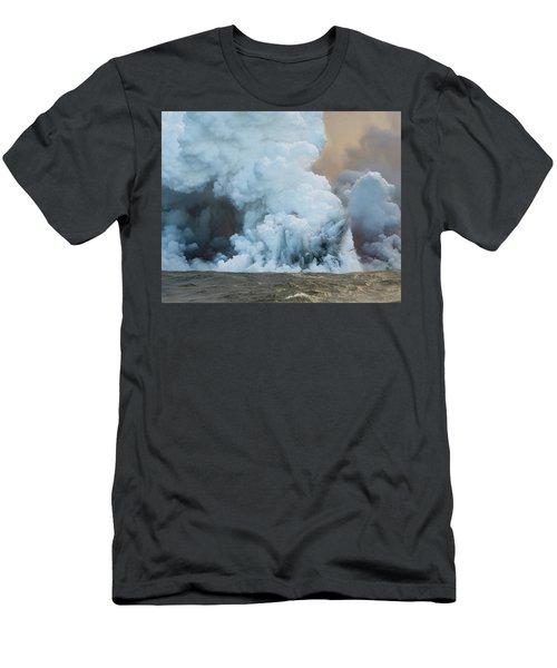Submerged Lava Bomb Men's T-Shirt (Athletic Fit)