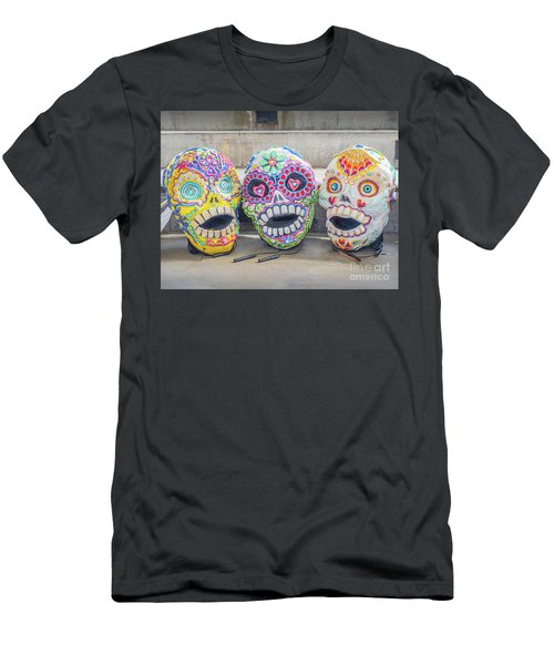 Sugar Skulls Men's T-Shirt (Athletic Fit)
