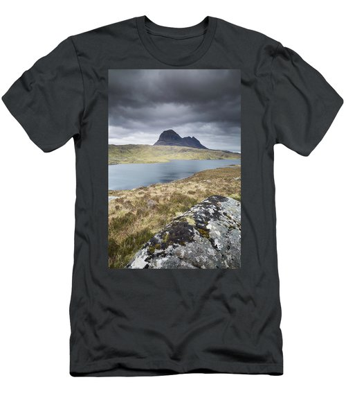 Suilven On A Stormy Day Men's T-Shirt (Athletic Fit)