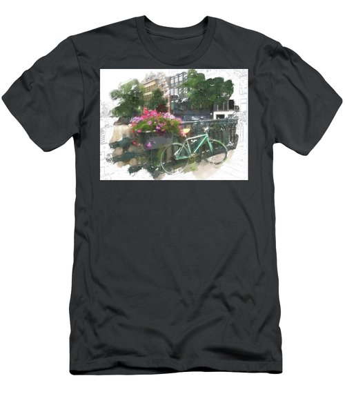 Summer In Amsterdam Men's T-Shirt (Athletic Fit)