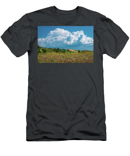 Summer Storm Over The Dunes Men's T-Shirt (Athletic Fit)