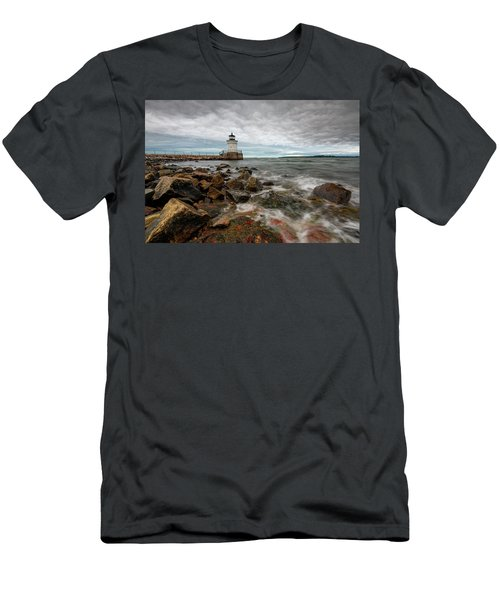 Summer Tides At Bug Light Men's T-Shirt (Athletic Fit)
