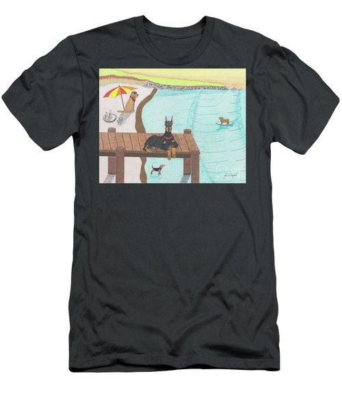 Summertime Fun Men's T-Shirt (Athletic Fit)