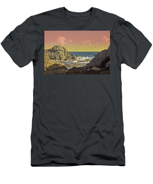 Sundown At Buck Men's T-Shirt (Athletic Fit)