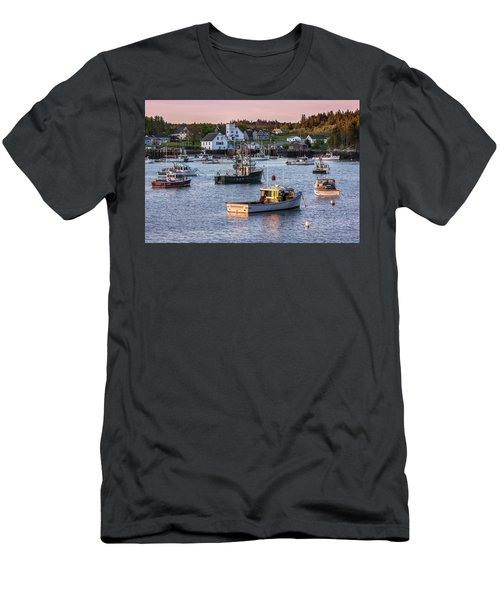 Sundown At Cutler, Maine Men's T-Shirt (Athletic Fit)