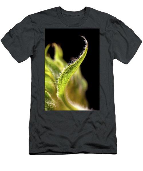 Sunflower Leaf Men's T-Shirt (Athletic Fit)