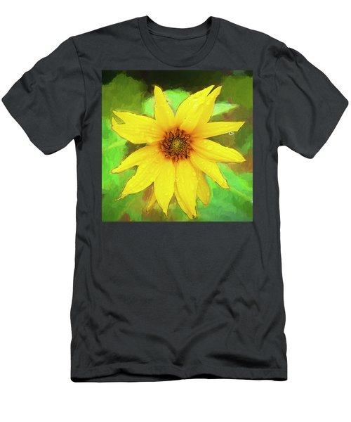 Sunflowers Helianthus 007 Men's T-Shirt (Athletic Fit)