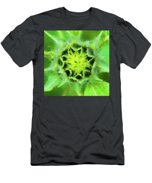 Sunflowers Helianthus 013 Men's T-Shirt (Athletic Fit)