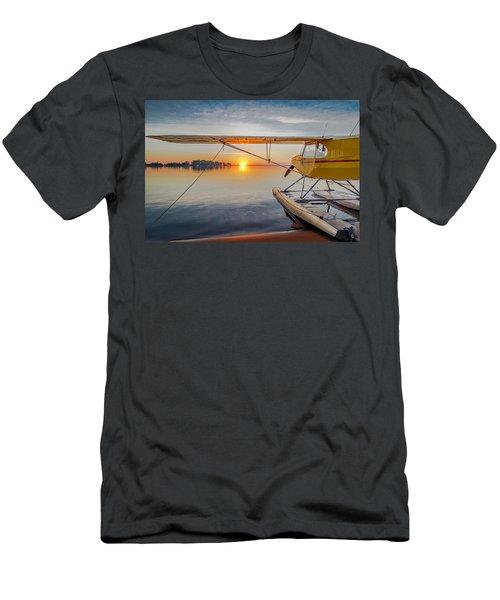 Sunrise Seaplane Men's T-Shirt (Athletic Fit)