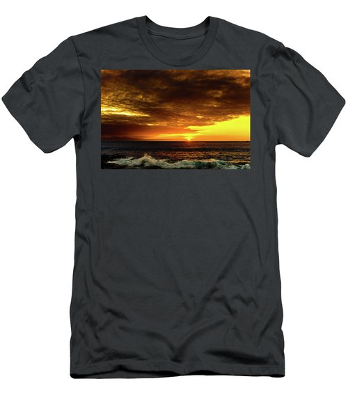 Sunset And Surf Men's T-Shirt (Athletic Fit)