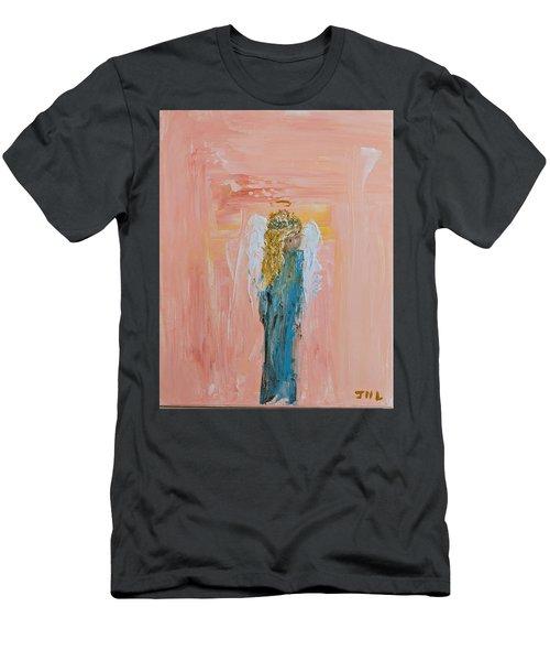 Sunset Angel Men's T-Shirt (Athletic Fit)