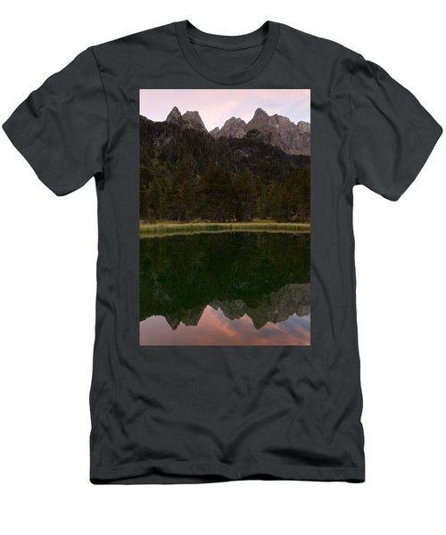 Men's T-Shirt (Athletic Fit) featuring the photograph Sunset At Ibonet De Batisielles by Stephen Taylor