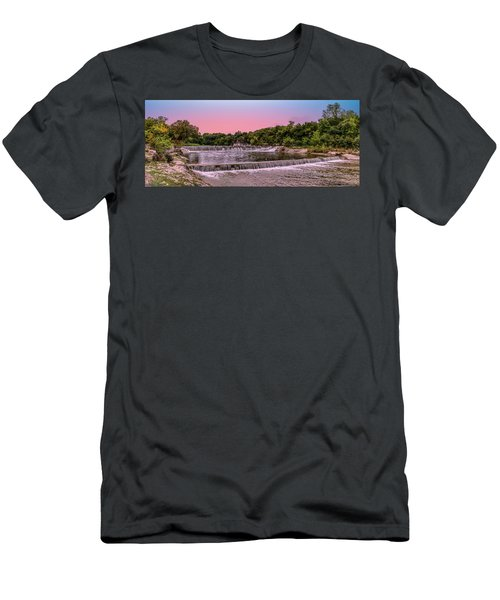 Sunset At The Falls Men's T-Shirt (Athletic Fit)
