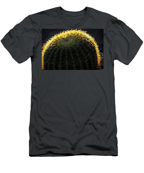 Sunset Cactus Men's T-Shirt (Athletic Fit)