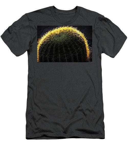 Sunset Cactus Men's T-Shirt (Athletic Fit)