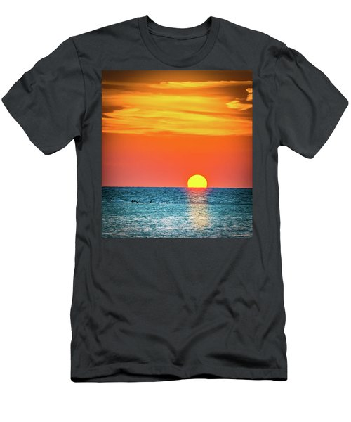 Men's T-Shirt (Athletic Fit) featuring the photograph Sunset Captiva  by Francisco Gomez