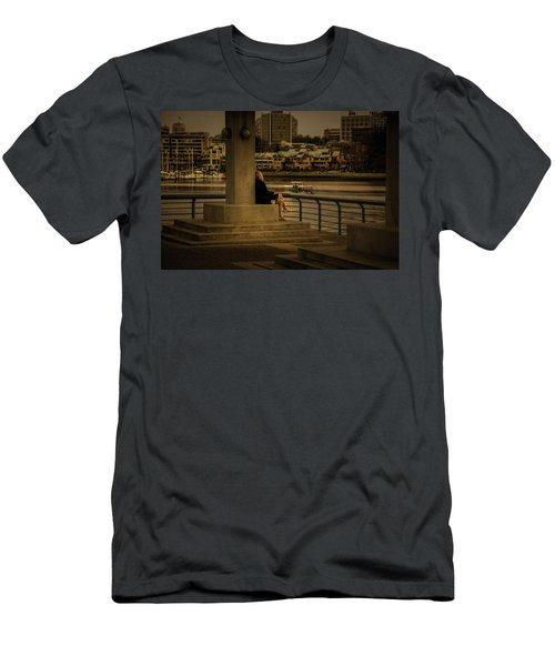 Sunset Enjoyment Men's T-Shirt (Athletic Fit)