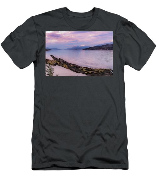 Sunset In Ushuaia Men's T-Shirt (Athletic Fit)