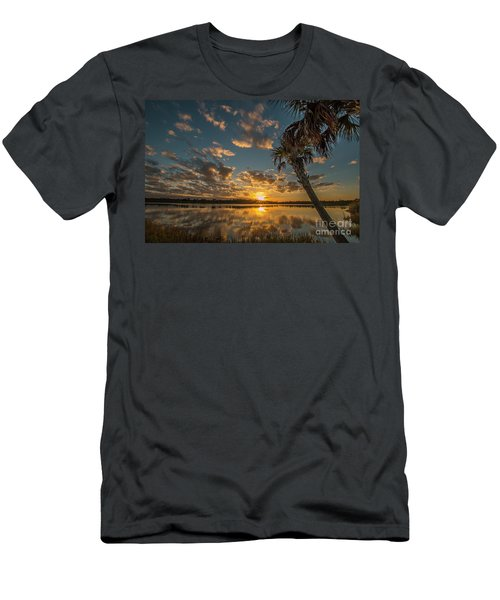 Sunset On The Pond Men's T-Shirt (Athletic Fit)