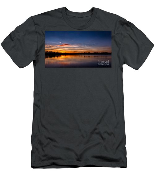 Sunset Over Laupheim Quarry Men's T-Shirt (Athletic Fit)