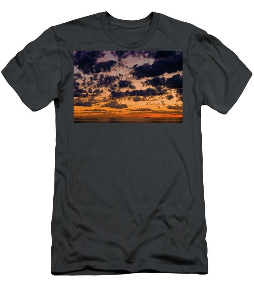 Sunset Over The Indian Ocean Men's T-Shirt (Athletic Fit)