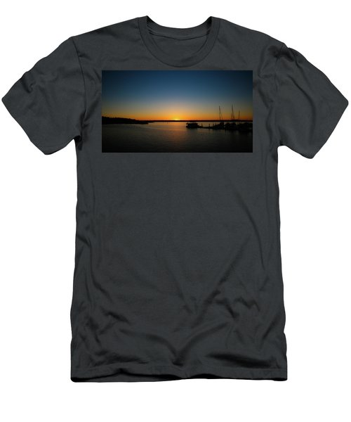 Sunset Over The Potomac Men's T-Shirt (Athletic Fit)