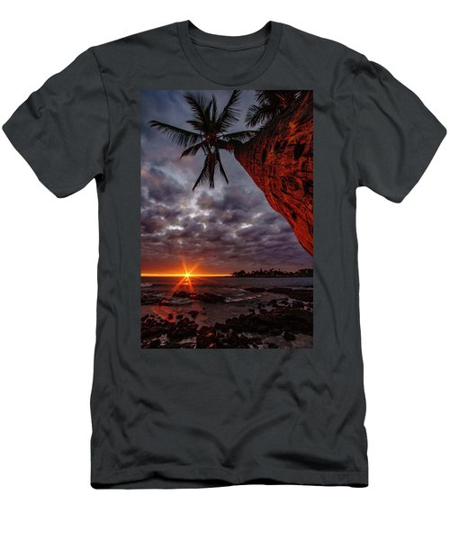 Sunset Palm Men's T-Shirt (Athletic Fit)