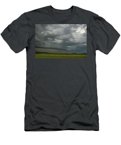 Supercells In Nebraska 049 Men's T-Shirt (Athletic Fit)