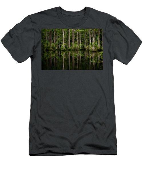 Swamp Lines Men's T-Shirt (Athletic Fit)