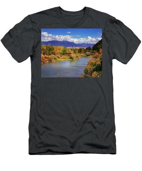 Swan Valley Autumn Men's T-Shirt (Athletic Fit)