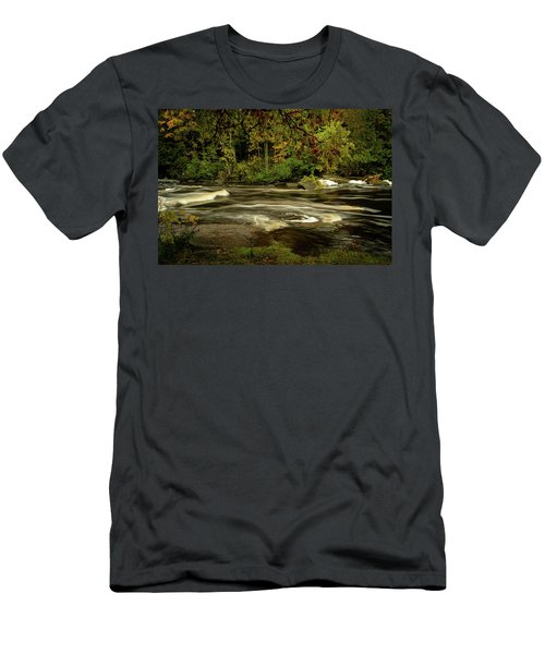 Swirling River Men's T-Shirt (Athletic Fit)