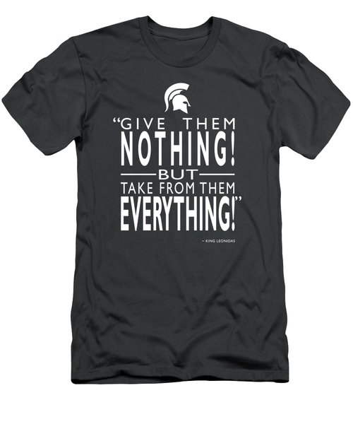 Take From Them Everything Men's T-Shirt (Athletic Fit)