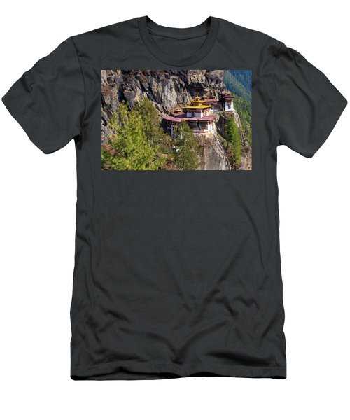 Taktsang Monastery  Men's T-Shirt (Athletic Fit)