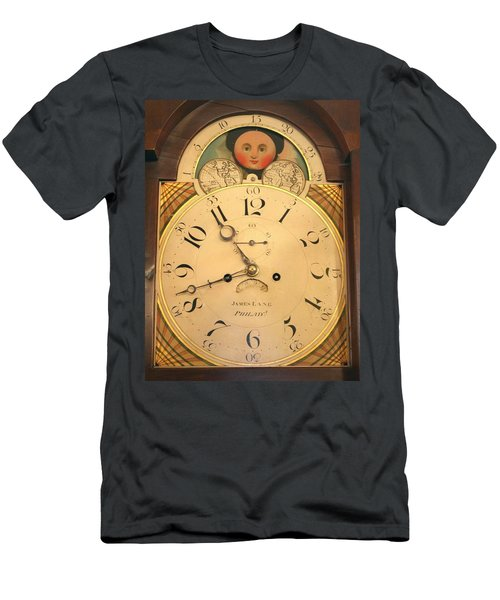 Tall Case Clock Face, Around 1816 Men's T-Shirt (Athletic Fit)