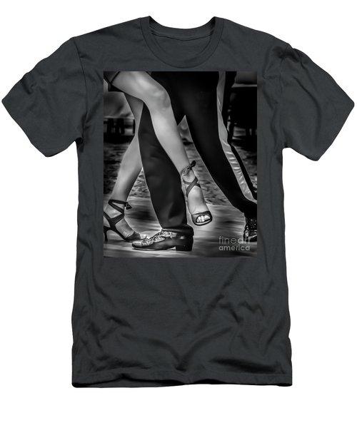 Tango Of Feet Men's T-Shirt (Athletic Fit)