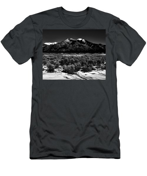 Taos Mountain In The Zone Men's T-Shirt (Athletic Fit)